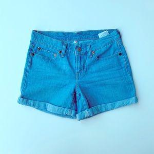 Levi's Cuffed Denim Jean Shorts